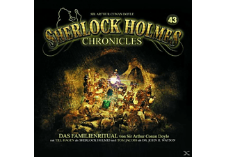Sherlock Holmes Chronicles - Das Familienritual Folge 43  - (CD)