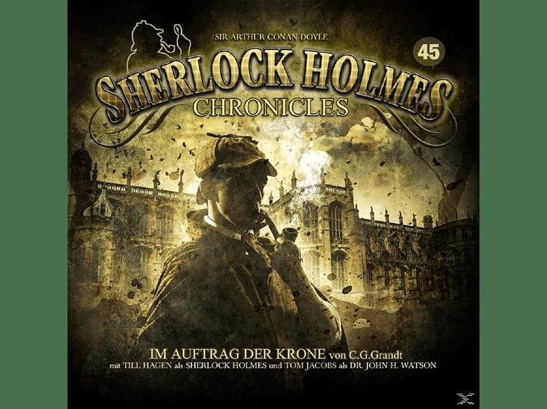 Sherlock Holmes Chronicles - Im Auftrag der Krone Folge 45 - (CD)