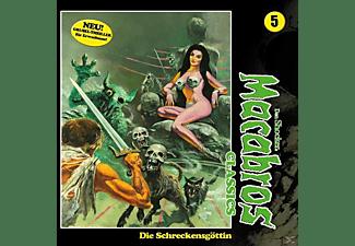 Dan Shocker - Macabros Classics-Die Schreckensgöttin Folge 05  - (CD)