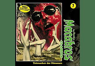 Dan Shocker - Macabros Classics-Totenacker der Dämonen Folge  - (CD)