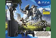 SONY PlayStation 4 Slim Konsole 1TB Schwarz + Horizon Zero Dawn inkl. 2 Controller