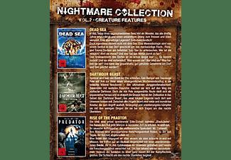 Nightmare Collection Vol. 2 - Creature Features (Dead Sea, Dartmoor Beast, Rise of the predator) DVD