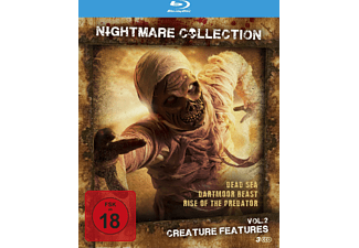 Nightmare Collection Vol. 2 - Creature Features (Dead Sea, Dartmoor Beast, Rise of the predator) - (Blu-ray)
