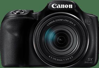 CANON PowerShot SX540 HS Digitalkamera Schwarz, 50fach opt. Zoom, LCD (TFT), WLAN