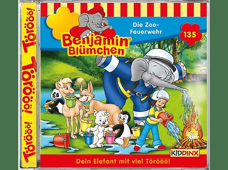 Benjamin Blümchen: Die Zoo-Feuerwehr - (CD)