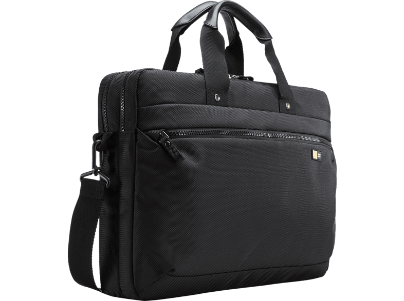 CASE-LOGIC Bryker Deluxe Notebooktasche, Umhängetasche, 15.6 Zoll, Schwarz