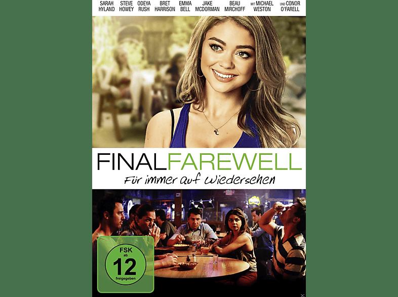 Final Farewell - Für immer auf Wiedersehen [DVD]