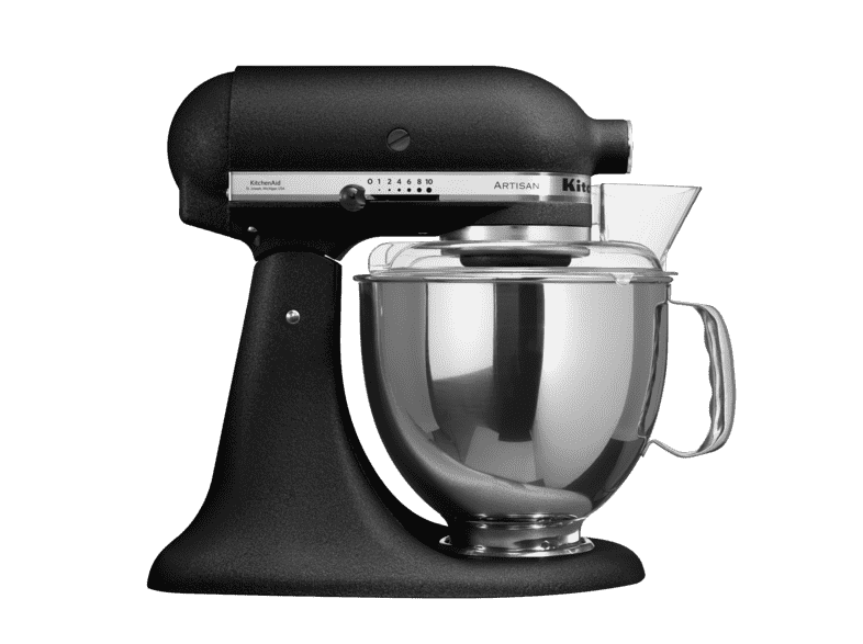 kitchenaid matt svart
