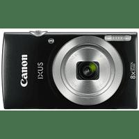 CANON Ixus 185 Digitalkamera Schwarz, 20 Megapixel, 8x opt. Zoom, LCD