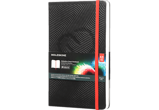 MOLESKINE L/A5 Blanko Smart Notizbuch, Schwarz