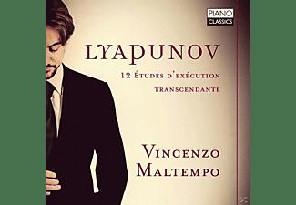 Vincenzo Maltempo - 12 Etudes D.Execution Transcendante  - (CD)