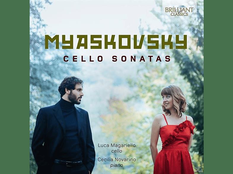 Magariello,Luca/Novarino,Cecilia - Cello Sonatas [CD]