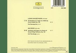 Paul Baumgartner, Erik Then-bergh - Klaviervariationen  - (CD)