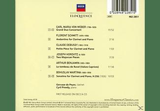 Cyril Preedy, Gervase De Peyer - Klarinettenrecital  - (CD)
