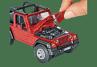 SIKU Jeep Wrangler Nutzfahrzeug Miniatur, Mehrfarbig