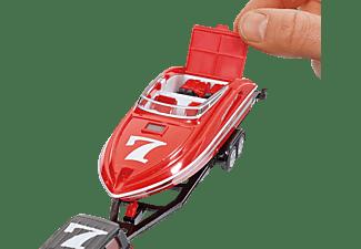 SIKU PKW mit Motorboot PKW Miniaturen Mehrfarbig