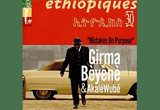 Girma Bèyènè, Akale Wube - Ethiopiques 30 - Mistakes On Purpose  - (CD)