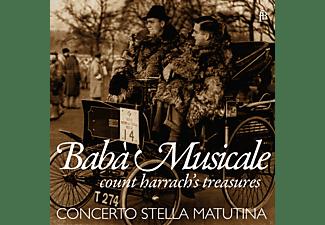 Concerto Stella Matutina - Babà Musicale-Count Harrach's Treasures  - (CD)
