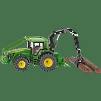 SIKU John Deere Forsttraktor Nutzfahrzeug Miniatur