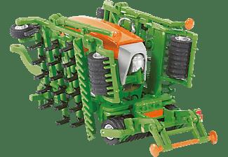 SIKU Traktor mit Sämaschine Nutzfahrzeug Miniatur, Mehrfarbig