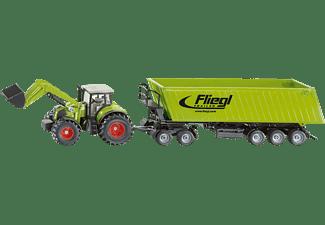 SIKU Traktor mit Frontlader, Dolly Nutzfahrzeug Miniatur, Mehrfarbig