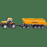 SIKU JCB Traktor mit Dolly Nutzfahrzeug Miniatur