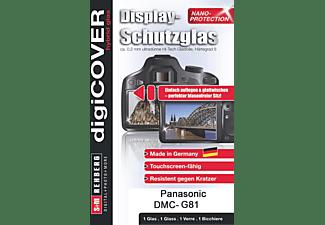 S+M G4307, Schutzglas, Transparent, passend für Panasonic DMC-G81
