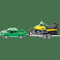 SIKU PKW mit Anhänger und Snowmobil PKW Miniaturen