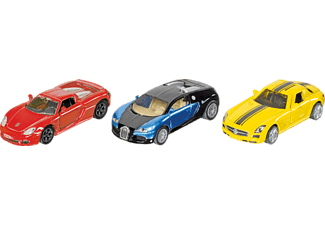 SIKU Geschenkset Sportwagen PKW Miniaturen Mehrfarbig