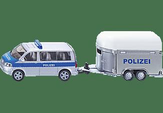 SIKU PKW mit Pferdeanhänger PKW Miniaturen Mehrfarbig