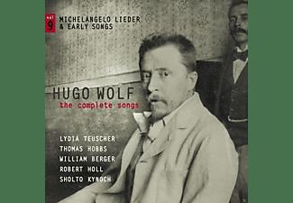 Thomas Hobbs, Williams Berger, Robert Holl, Lydia Teuscher, Sholto Kynoch - Sämtliche Lieder  - (CD)