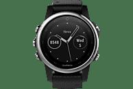 GARMIN Fenix 5S, Smartwatch, 220 mm, Silber/Schwarz