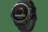 GARMIN FENIX 5, Smartwatch, 235 mm, Grau/Schwarz