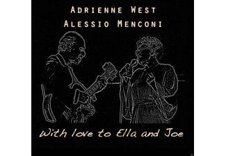 Alessio Menconi, West Adrienne - With Love to Ella and Joe - (CD)