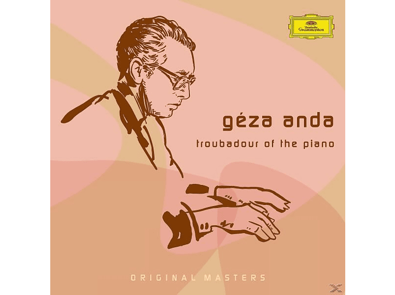 Géza Anda, Concertgebouw Orchestra, Radio-symphony-orchester Berlin, Berliner Philharmoniker - TROUBADOUR OF THE PIANO [CD]