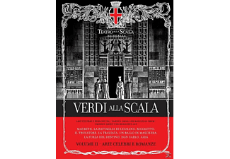 VARIOUS - Verdi Alla Scala Vol.2 - (CD + Buch)
