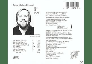 Peter Michael Hamel - Let It Play  - (CD)