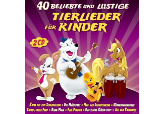 VARIOUS - 40 beliebte u.lustige Tierlieder f.Kinder  - (CD)