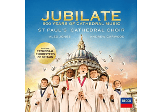 Aled Jones, Simon Johnson, St Paul's Cathedral Choir, The Cathedral Choristers Of Britain - Jubilate: 500 Years Of Cathedral Music  - (CD)
