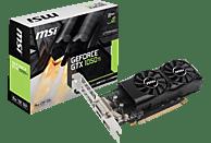 MSI GeForce® GTX 1050Ti 4GT Low Profile 4GB (V809-2404R) (NVIDIA, Grafikkarte)