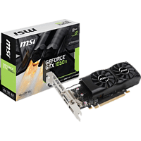 MSI GeForce® GTX 1050Ti 4GT Low Profile 4GB (V809-2404R) (NVIDIA, Grafikkarte)