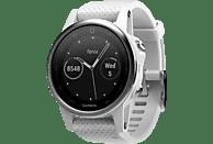 GARMIN Fenix 5S, Smartwatch, 220 mm, Silber/Weiß