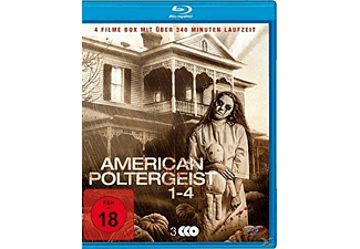 American Poltergeist 1-4-Uncut Blu-Ray Box Blu-ray