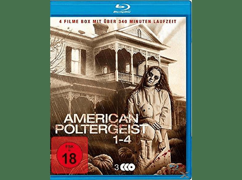 American Poltergeist 1-4-Uncut Blu-Ray Box [Blu-ray]