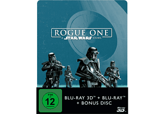Rogue One: A Star Wars Story (2D+3D) Steelbook 3D Blu-ray (+2D)