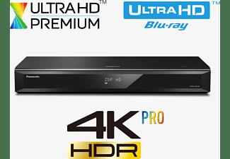 PANASONIC Ultra HD Blu-ray Recorder DMR-UBS90, HD DVB-S2-Triple Tuner, 2000 GB Festplatte, schwarz
