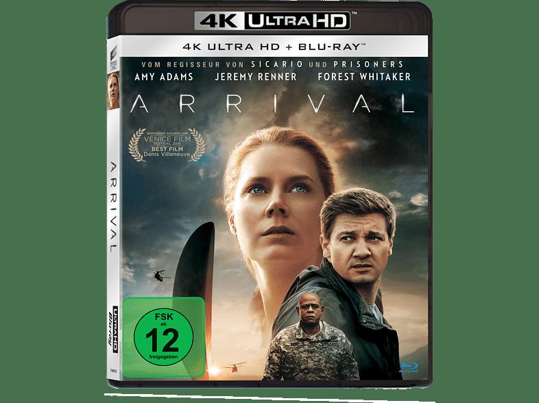 Arrival [4K Ultra HD Blu-ray + Blu-ray]