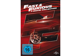 Fast & Furious 7 Movie Collection (Vin Diesel, Paul Walker, Dwayne Johnson) [DVD]