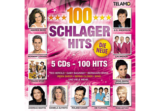 VARIOUS - 100 Schlager Hits-Die Neue   - (CD)
