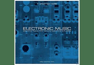 VARIOUS - ELECTRONIC MUSIC  - (Vinyl)